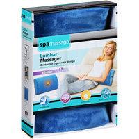 Spa Massage Lumbar Massager, Blue