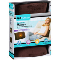 Spa Massage Lumbar Massager, Brown