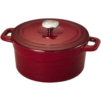 Guy Fieri Cast Iron 3.5qt Dutch Oven, Red