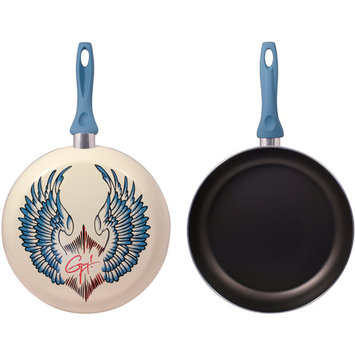 Guy Fieri Deco Wings 12-in. Nonstick Frypan