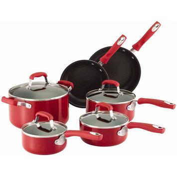 Guy Fieri 10-pc. Nonstick Aluminum Cookware Set (Red)