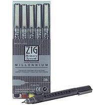 Ek Success Millennium Pen .05 Line Set-5 Per Set