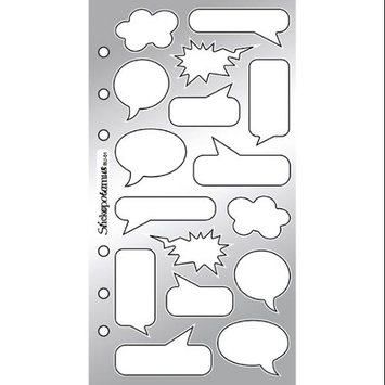 Stickopotamus Captions And Icons Sticker Collection comic book