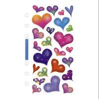 Stickopotamus Heart Sticker Collection sparkle hearts