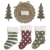 Sticko & Jolee's Jolee's Boutique Dimensional Sticker-Seasons Greetings