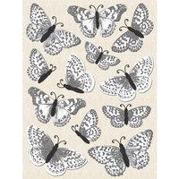 Stickopotamus Stickers Foil Butterflies