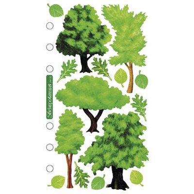 Sticko SPVM-33 Sticko Vellum Stickers-Trees