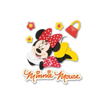 Sticko & Jolee's Jolees 286968 Disney Dimensional Sticker-Minnie