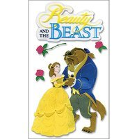 Sticko & Jolee's Disney Princess Movie Dimensional Stickers, Beauty and The Beast/Belle and Beast