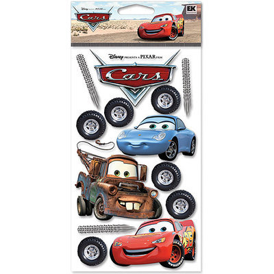 Ek Success DCGIJ06 Disney Cars Dimensional Stickers