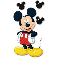 Sticko & Jolee's Jolees 304003 Disney Jumbo Dimensional Sticker-Mickey