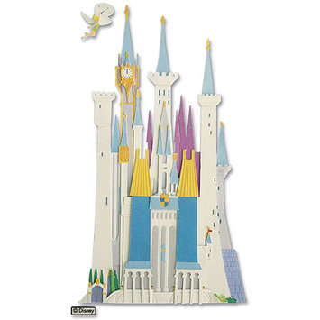 Sticko & Jolee's Disney Vacation Dimensional Sticker-Disney Castle