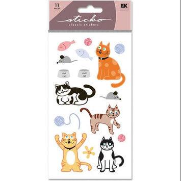Stickopotamus Stickers Cat Glitter