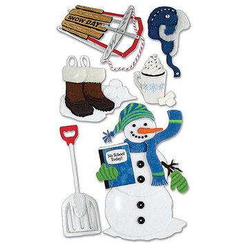 Sticko & Jolee's Jolee's Boutique Le Grande Dimensional Sticker-Snow Day