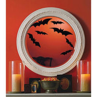 Martha Stewart Crafts™ 12-pack Cling Silhouettes - Bats