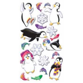 Sticko SPP1PVC18 Puffy Dimensional Stickers