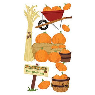 Jolees Jolee's Boutique Le Grande Dimensional Sticker-Pumpkin Pickin'