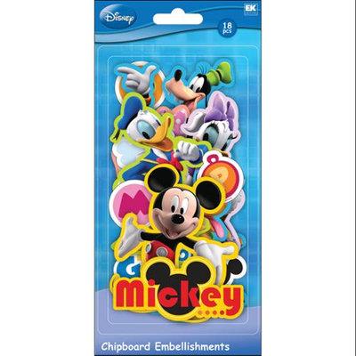 Sticko 434801 Disney Chipboard Embellishments-Mickey Friends