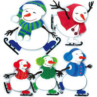 Jolees Jolee's Boutique Dimensional Stickers-Ice Skating