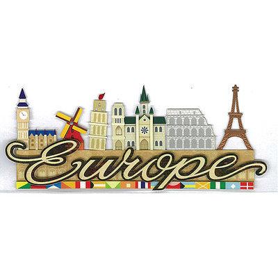 Ek Success E5060145 Jolee's Boutique Title Wave Stickers