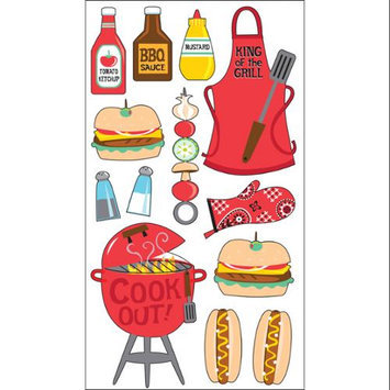 Sticko 450143 Sticko Classic Stickers-King Of The Grill