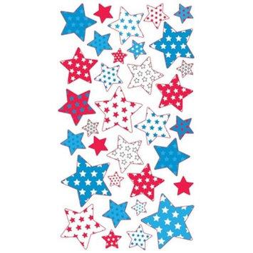 Stickopotamus Stickers Metallic Stars