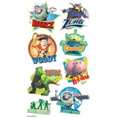 Ek Success DTFPF Disney Puffy Stickers
