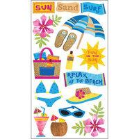 Sticko E5200389 Sticko Classic Stickers-Sun Surf Sand