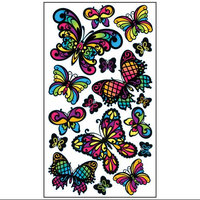 Sticko E5200967 Sticko Classic Stickers-Stained Glass Butterfly