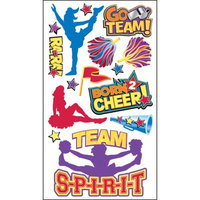 Sticko E5200765 Sticko Classic Stickers-Cheerleaders