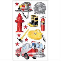 Sticko E5200780 Sticko Classic Stickers-Fireman