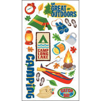 Sticko E5260109 Sticko Classic Stickers-The Great Outdoors