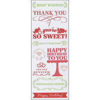Martha Stewart Crafts® Clear Stamps - All Occasion