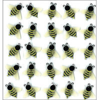 Sticko 473491 Jolees Mini Repeats Stickers-Bees