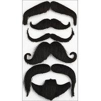 Jolees 486870 Jolees Boutique Parcel Dimensional Stickers-Moustaches