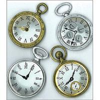 Jolees 477015 Jolees Boutique Parcel Dimensional Stickers-Vintage Pocket Watches
