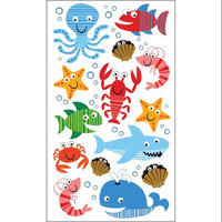Sticko E5200996 Sticko 58 Stickers-Sea Life Fun