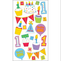 Sticko E5200689 Sticko 58 Stickers-Babys First Birthday