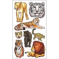 Sticko E5200694 Sticko 58 Stickers-Big Cats