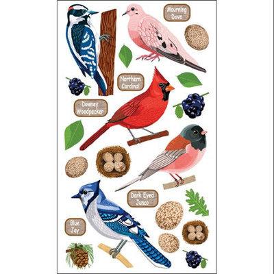 Sticko E5201088 Sticko 58 Stickers-Top U.S. Birds 2