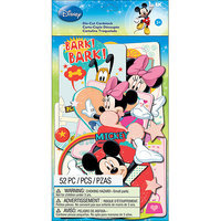 EK Success E5100112 Disney Cardstock DieCuts 52PkgMickey Family