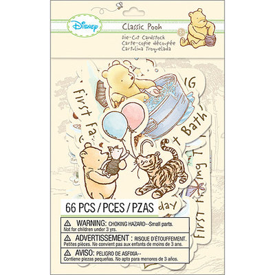EK Success E5100115 Disney Cardstock Die-Cuts-Classic Pooh - Firsts
