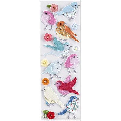 Stitched Stickers, Bird by Martha Stewart Crafts