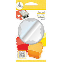 Ek Success Slim Paper Punch Extra Large - Flourish Square Approx. 1.75