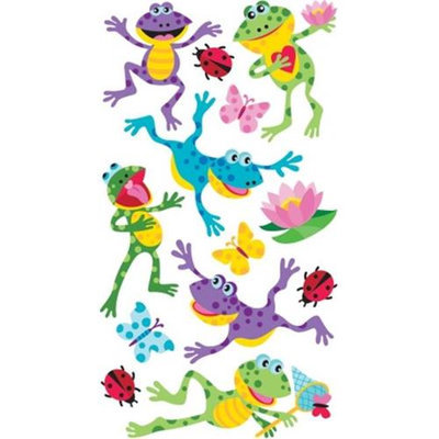 Sticko Sparkler Classic Stickers-Happy Frogs