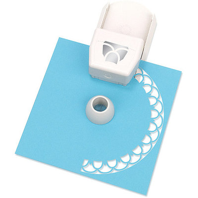 Martha Stewart Crafts Circle Border Cartridge, Layered Flower