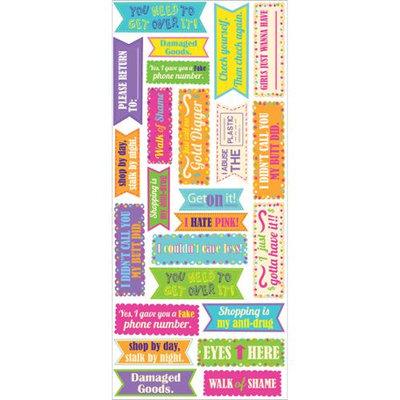 Eksuccess Brands Sticko Stickofy Stickers-Sassy Teen Phrase Labels