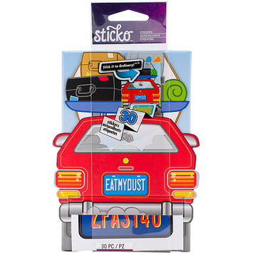Eksuccess Brands Sticko Stickofy Sticker Roll-License Plate