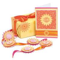 Ek Success Punch Pairings Large Punch & Coordinating Stamps-Sweetheart
