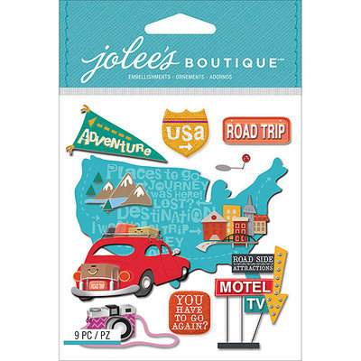 Jolees NOTM242627 - Jolee's Boutique Dimensional Stickers